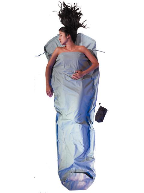 Cocoon - Drap sac de couchage en coton - bleu